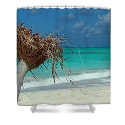 Wilson Upclose Shower Curtain