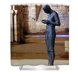 Winchester Crypt Shower Curtain
