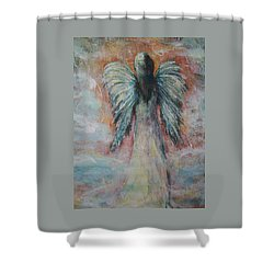 Wind In My Wings, Angel Shower Curtain