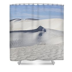 Wind Patterns Shower Curtain