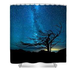 Chance Shower Curtain by Dustin  LeFevre