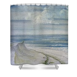 Windblown Shower Curtain by Judy Hall-Folde