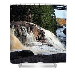 Winding Falls Shower Curtain