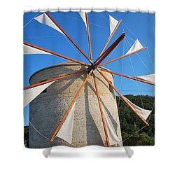 Windmill  2 Shower Curtain
