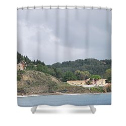 Windmill Built 1830 Shower Curtain