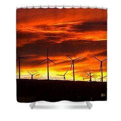 Shower Curtain featuring the photograph Shades Of Light  by Chris Tarpening