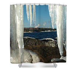 Shower Curtain featuring the photograph Window Into Minnesota by James Peterson
