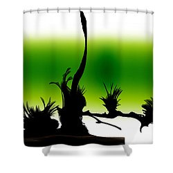 Window Shower Curtain by Len YewHeng