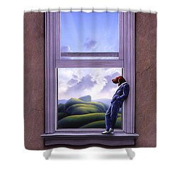 Window Of Dreams Shower Curtain