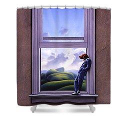Window Of Dreams Shower Curtain