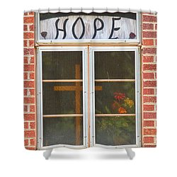 Window Of Hope 2 Shower Curtain by James BO  Insogna