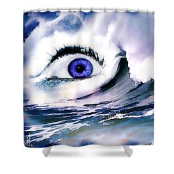 Window Of Your Soul Shower Curtain