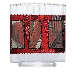 Window Panes Shower Curtain