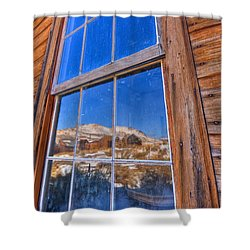 Window To Bodie Shower Curtain