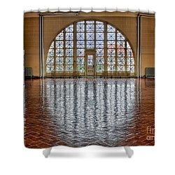 Window To Freedom Shower Curtain by Susan Candelario