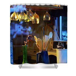 Window To My Kitchen Shower Curtain by Brian Wallace