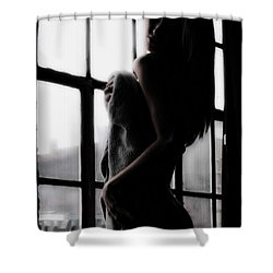 Window With A View Shower Curtain