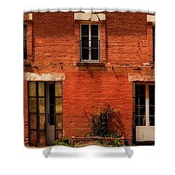 Windows And Doors Shower Curtain