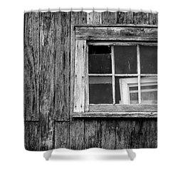 Windows In The Window Shower Curtain by Jeff Burton