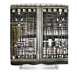 Windows Of A Prairie House  Shower Curtain