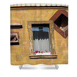 Windows To Budapest Shower Curtain