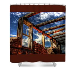 Windows To The Past Shower Curtain by Timothy Bischoff