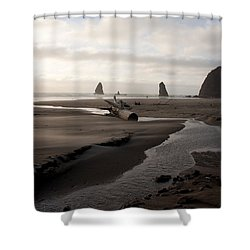 Windswept Shower Curtain by John Daly