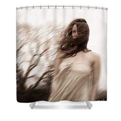 Windy Shower Curtain by Margie Hurwich