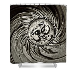 Windy Sun  Shower Curtain