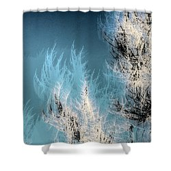 Windy Trees 13026 Shower Curtain