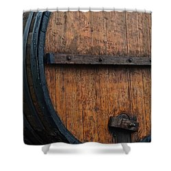 Wine Aplenty Shower Curtain by Frozen in Time Fine Art Photography