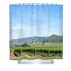 Wine Country Edna Valley Shower Curtain
