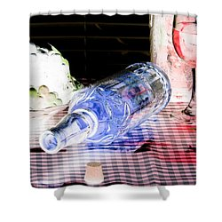 Wine Country - Photopower 01 Shower Curtain by Pamela Critchlow