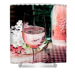 Wine Country - Photopower 03 Shower Curtain by Pamela Critchlow