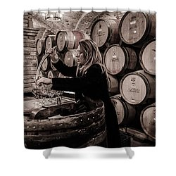Wine Tasting Shower Curtain