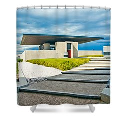 Winery Modernism Shower Curtain