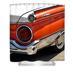 Wing And A Skirt - 1959 Ford Shower Curtain