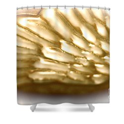 Shower Curtain featuring the photograph Winged Truth  by Cathy Dee Janes