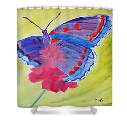 Winged Delight Shower Curtain