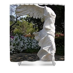 Winged Victory Nike Shower Curtain