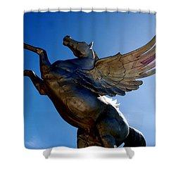 Winged Wonder I Shower Curtain