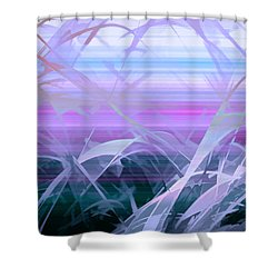 Shower Curtain featuring the photograph Wings by Holly Kempe