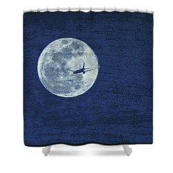 Wings Shower Curtain by J Anthony