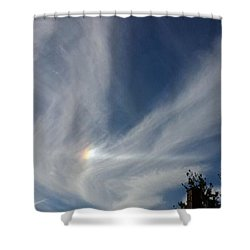 Shower Curtain featuring the photograph Angel Wings by Becky Lupe