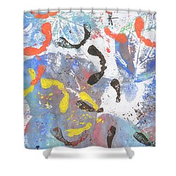 Wings Of Autumn Shower Curtain