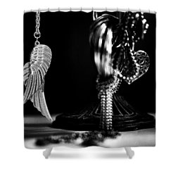 Wings Of Desire II Shower Curtain by Marco Oliveira
