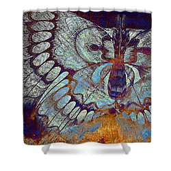 Wings Of Destiny Shower Curtain