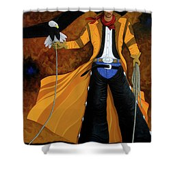 Wings Of The West Shower Curtain by Lance Headlee