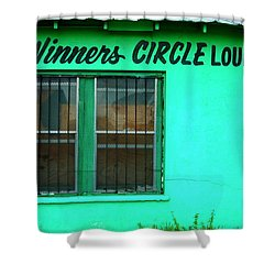 Winner's Circle Lounge Shower Curtain