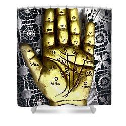 Winning Hand Shower Curtain
